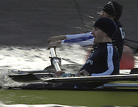 PUTNEY, LONDON, ENGLAND, 05.03.2006, Pre 2006 Boat Race Fixtures,.   © Peter Spurrier/Intersport-images.com.No.2 Colin Smith,  [Mandatory Credit Peter Spurrier/ Intersport Images] Varsity Boat Race, Rowing Course: River Thames, Championship course, Putney to Mortlake 4.25 Miles