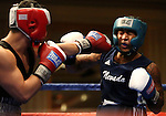 Nevada's Maurice Hooks defeated Adolph Rivas of University of Washington during the Nevada Boxing bouts at the Eldorado in Reno, Nev., on Friday, Feb. 22, 2013..Photo by Cathleen Allison