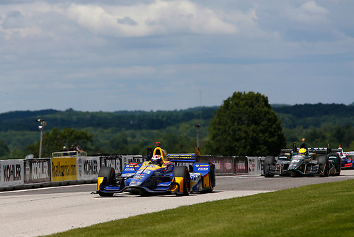 Verizon IndyCar Series<br /> Kohler Grand Prix<br /> Road America, Elkhart Lake, WI USA<br /> Sunday 25 June 2017<br /> Alexander Rossi, Andretti Herta Autosport with Curb-Agajanian Honda<br /> World Copyright: Phillip Abbott<br /> LAT Images<br /> ref: Digital Image abbott_elkhart_0617_8033