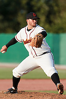 27 july 2010: Martin Dewald of Germany pitches against France during Germany 10-9 victory over France, in day 5 of the 2010 European Championship Seniors, in Stuttgart, Germany.