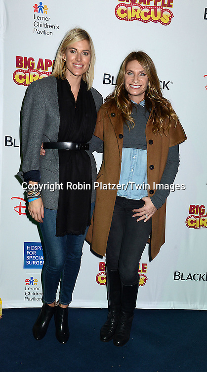 Kristen Taekman and Heather Thomson of The Real Housewives of New York attend the Hospital for Special Surgery's 8th Annual  Big Apple Circus Benefit on December 6, 2014 at Damrosch Park in Lincoln Center  in New York City, USA.<br /> <br /> photo by Robin Platzer/Twin Images<br />  <br /> phone number 212-935-0770
