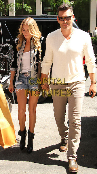 NEW YORK, NY - JULY 17: LeAnn Rimes and Eddie Cibrian at SiriusXM to talk about the new reality series on Vh1 'LeAnn &amp; Eddie' on July 17, 2014 in New York. <br /> CAP/MPI/RW<br /> &copy;RW/MediaPunch/Capital Pictures