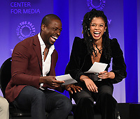 """HOLLYWOOD, CA - MARCH 24: Actors Sterling K. Brown and Susan Kelechi Watson attends PaleyFest 2019 for 20th Century Fox Television's """"This is Us"""" at the Dolby Theatre on March 24, 2019 in Hollywood, California. (Photo by Frank Micelotta/20th Century Fox Television/PictureGroup)"""