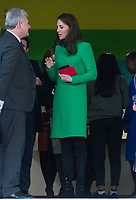 Catherine Duchess of Cambridge visits Alperton Community School in London in support of Place 2 Be's Children's Mental Health Week in London, England, UK on February 05, 2019. <br /> CAP/JOR<br /> &copy;JOR/Capital Pictures