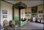 Il Castello Cavour di Santena, residenza del Conte Camillo di Cavour. La camera degli ospiti