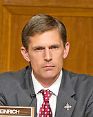"United States Senator Martin Heinrich (Democrat of New Mexico) listens to testimony before the United States Senate Committee on Armed Services concerning ""Impacts of the Joint Comprehensive Plan of Action (JCPOA) on U.S. Interests and the Military Balance in the Middle East"" on Capitol Hill on Wednesday, July 29, 2015.<br /> Credit: Ron Sachs / CNP"