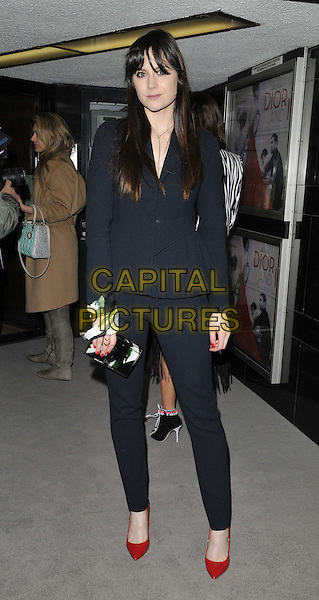 LONDON, ENGLAND - MARCH 16: Lilah Parsons attends the &quot;Dior and I&quot; UK film premiere, Curzon Mayfair cinema, Curzon St., on Monday March 16, 2015 in London, England, UK. <br /> CAP/CAN<br /> &copy;CAN/Capital Pictures