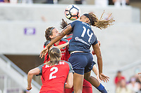 Orlando, FL - Saturday October 14, 2017: Jessica McDonald during the NWSL Championship match between the North Carolina Courage and the Portland Thorns FC at Orlando City Stadium.
