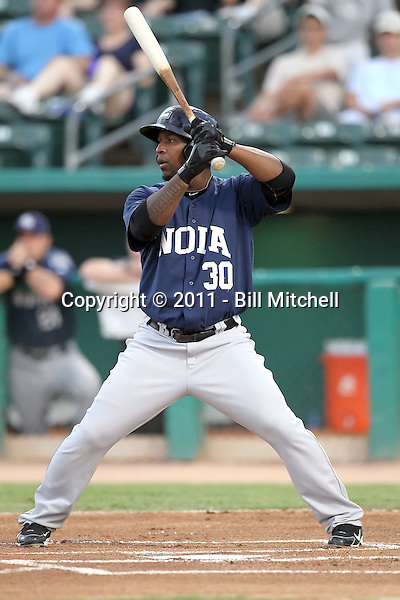 Joe Thurston - New Orleans Zephyrs - 2011 Pacific Coast League.Photo by Bill Mitchell
