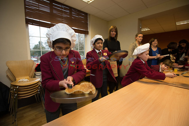 Cathedral School Cardiff Blues visit.<br /> 10.02.15<br /> &copy;Steve Pope -FOTOWALES