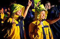 Scout promise. Photo: Mikko Roininen / Scouterna