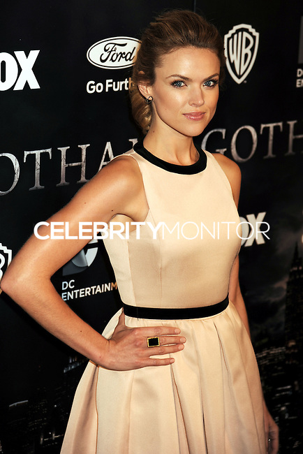 NEW YORK CITY, NY, USA - SEPTEMBER 15: Erin Richards arrives at the New York Series Premiere Of 'Gotham' held at the New York Public Library on September 15, 2014 in New York City, New York, United States. (Photo by Celebrity Monitor)