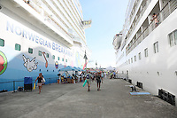 Ankunft Norwegian Breakaway in St. John's auf Antigua