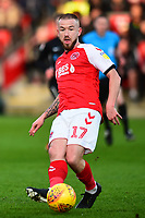 Fleetwood Town's Paddy Madden in action<br /> <br /> Photographer Richard Martin-Roberts/CameraSport<br /> <br /> The EFL Sky Bet League One - Fleetwood Town v Portsmouth - Saturday 29th December 2018 - Highbury Stadium - Fleetwood<br /> <br /> World Copyright &not;&copy; 2018 CameraSport. All rights reserved. 43 Linden Ave. Countesthorpe. Leicester. England. LE8 5PG - Tel: +44 (0) 116 277 4147 - admin@camerasport.com - www.camerasport.com
