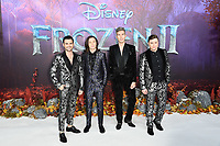 "Collabro<br /> arriving for the ""Frozen 2"" premiere at the BFI South Bank, London.<br /> <br /> ©Ash Knotek  D3537 17/11/2019"