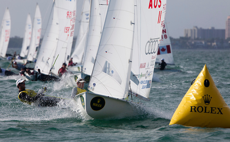 AUS 11, Fleet: 470-Men, Crew: Mathew Belcher, Malcolm Page, Country: AUS