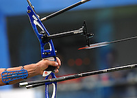 Tiro con l'arco a squadre - La partenza della freccia..Pechino - Beijing 11/8/2008 Olimpiadi 2008 Olympic Games..Foto Andrea Staccioli Insidefoto