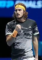 Greek player Stefanos Tsitsipas (GRE)  <br /> London 14/11/2019 O2 Arena <br /> Tennis Nitto ATP Finals 2019 <br /> Photo Melanie Jeusette / Panoramic/ Insidefoto