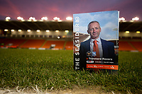 A match day programme for the game at Bloomfield Road<br /> <br /> Photographer Alex Dodd/CameraSport<br /> <br /> The EFL Sky Bet League One - Blackpool v Tranmere Rovers - Tuesday 10th March 2020 - Bloomfield Road - Blackpool<br /> <br /> World Copyright © 2020 CameraSport. All rights reserved. 43 Linden Ave. Countesthorpe. Leicester. England. LE8 5PG - Tel: +44 (0) 116 277 4147 - admin@camerasport.com - www.camerasport.com