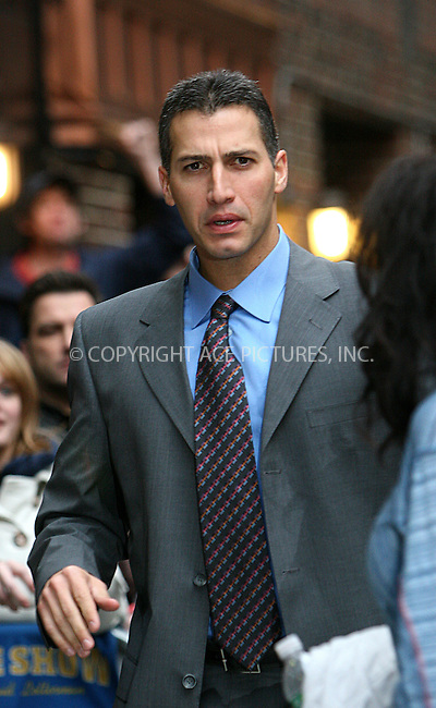 WWW.ACEPIXS.COM . . . . .  ....November 5 2009, New York City....Baseball player Andy Pettitte of the New York Yankees made an appearance at the 'Late Show With David Letterman' at the Ed Sullivan Theater on November 5, 2009 in New York City.....Please byline: NANCY RIVERA- ACE PICTURES.... *** ***..Ace Pictures, Inc:  ..tel: (212) 243 8787 or (646) 769 0430..e-mail: info@acepixs.com..web: http://www.acepixs.com