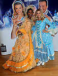 deniece Pearson and anna williamson at the press launch for the MILTON KEYNES THEATRE  Pantomime Cinderella  (07 Dec - 06 Jan)  Picture By: Brian Jordan / Retna Pictures.. ..-..