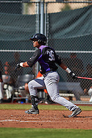 Colorado Rockies Daniel Suero (36) during an instructional league game against the San Francisco Giants on October 7, 2015 at the Giants Baseball Complex in Scottsdale, Arizona.  (Mike Janes/Four Seam Images)