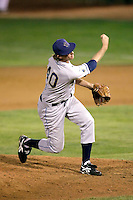 Rod Scurry of the Tri-City Dust Devils in the Northwest League championship game against the Salem-Keizer Volcanoes at Volcanoes Stadium - 9/10/2009..Photo by:  Bill Mitchell/Four Seam Images..