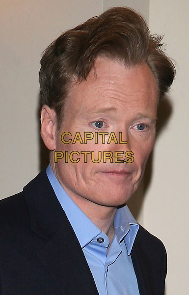 CONAN O'BRIEN.NBC Universal Pre-Super Bowl Party held at Loew's Portifino Bay Hotel, Orlando, Florida USA..January 31st, 2009.headshot portrait collar blue shirt o'brian  .CAP/ADM/RR.©Randi Radcliff/AdMedia/Capital Pictures.