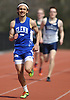 Anthony Aromolo of Glenn legs out a victory in the open 800 meter run during the Dennis Walker Classic at Huntington High School on Saturday, April 15, 2017. He won with a time of 2:07.15.