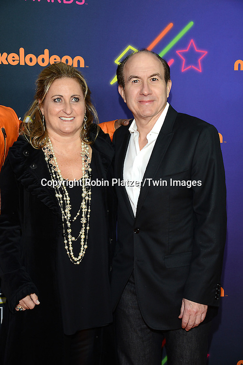 Cyma Zarghami and Philippe Dauman attend the 6th Annual Nickelodeon Halo Awards on November 15, 2014 at Pier 36 in New York City. <br /> <br /> photo by Robin Platzer/Twin Images<br />  <br /> phone number 212-935-0770