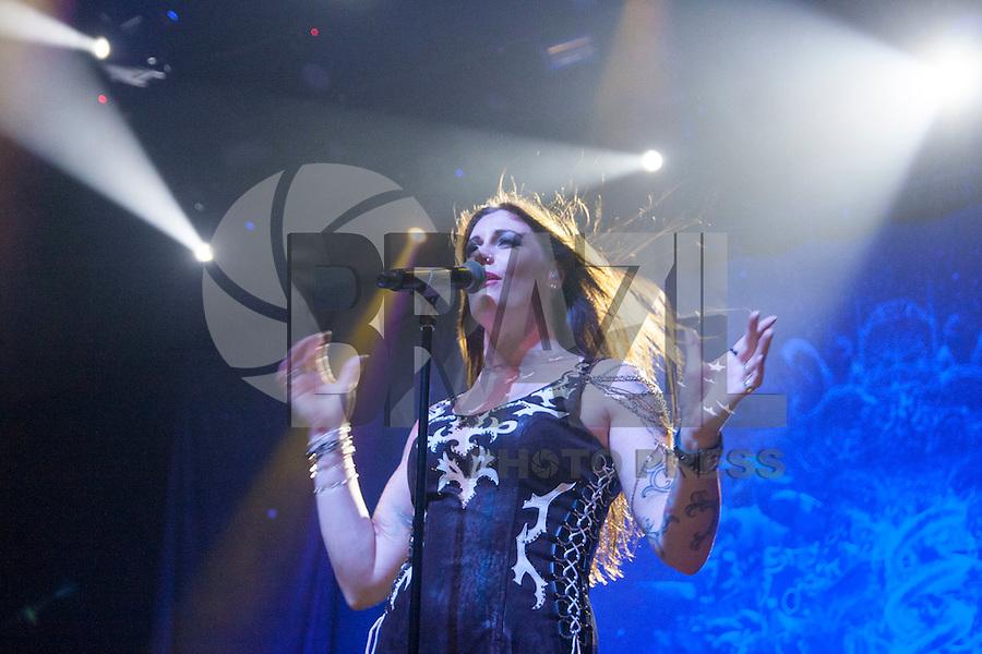 S&Atilde;O PAULO, 26-09-2015 - NIGHTWISH - TOM BRASIL<br /> A banda finlandesa Nightwish se apresentou no Tom Brasil, situada na zona sul, neste s&aacute;bado 26.<br /> <br /> Foto: (Flavio Hopp / Brazil Photo Press)