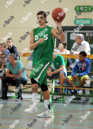 2013-08-15 / Basketbal / seizoen 2013-2014 / Oxaco / Sam Van Hoey<br /><br />Foto: Mpics.be