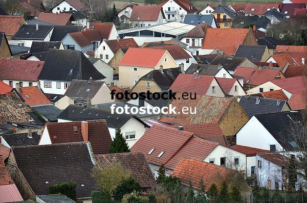 Blick auf die Dächer von Sulzheim