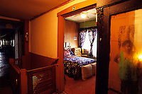 """Bessie Smith room at the Riverside Hotel in Clarksdale MS. Selections for the series """"Along the Blues Highway"""". Copyright © all rights reserved. No reproduction without expressed written consent."""