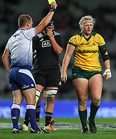 Laurie O'Reilly Memorial Trophy international women's rugby match between the New Zealand Black Ferns and Australia Wallaroos at Eden Park in Auckland, New Zealand on Saturday 25 August 2018. Photo: Simon Watts / lintottphoto.co.nz