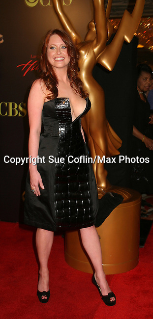 Melissa Archer - OLTL - Red Carpet - 37th Annual Daytime Emmy Awards on June 27, 2010 at Las Vegas Hilton, Las Vegas, Nevada, USA. (Photo by Sue Coflin/Max Photos)