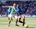 12.05.2019 Rangers v Celtic: Glen Kamara and Scott Brown