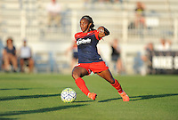 Boyds, MD - Saturday June 25, 2016: Crystal Dunn during a United States National Women's Soccer League (NWSL) match between the Washington Spirit and Sky Blue FC at Maureen Hendricks Field, Maryland SoccerPlex.