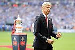 Arsene Wenger manager of Arsenal during the Emirates FA Cup Final match at Wembley Stadium, London. Picture date: May 27th, 2017.Picture credit should read: David Klein/Sportimage