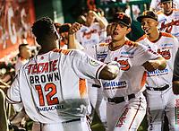 Dominic Larun Brown, durante la apertura de la temporada de beisbol de la Liga Mexicana del Pacifico 2017 2018 con el partido entre Naranjeros vs Yaquis. 11 octubre2017 . <br /> (Foto: Luis Gutierrez /NortePhoto.com)
