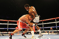 Anthony Joshua stops Jason Gevern in the second round - Boxing at the Metro Radio Arena, Newcastle, promoted by Matchroom Sports - 04/04/15 - MANDATORY CREDIT: Steven White/TGSPHOTO - Self billing applies where appropriate - contact@tgsphoto.co.uk - NO UNPAID USE