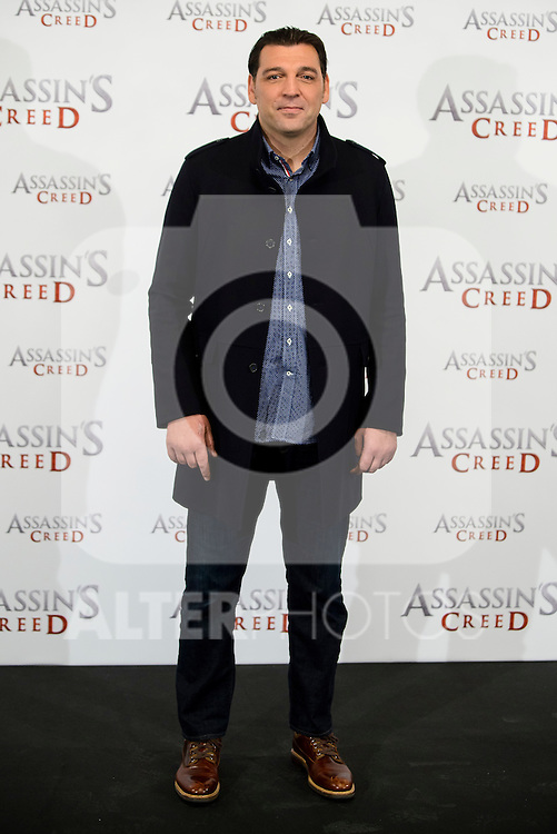 "Hovik Keuchkerian during the presentation of the film ""Assassin's Creed"" in Madrid, Spain. December 07, 2016. (ALTERPHOTOS/BorjaB.Hojas)"