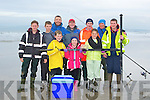 FISHING: Taking part in the late Timmy Ward and Sean Tierney Memorial Fishing competition in banna on Saturday Front l-r: Brendan,Jessie,Kayleigh and Vincent Tierney. Back l-r: Cian Rohan, Martin McGowan, John Tobin, Danny Tierney, Eugene Farrelly and Emmy Tierney..................... ..........