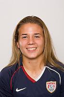 Amber Brooks. U-17 USA Women's National Team head shots on September 16, 2008. Photo by Howard C. Smith/isiphotos.com