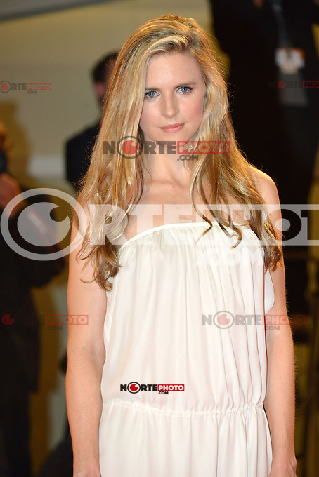 VENICE, ITALY - AUGUST 30: Actress Brit Marling attends 'The Iceman' Premiere during the 69th Venice International Film Festival at Palazzo del Casino on August 30, 2012 in Venice, Italy AFG / Mediapunchinc /NortePhoto.com<br /> <br /> **CREDITO*OBLIGATORIO** <br /> *No*Venta*A*Terceros*<br /> *No*Sale*So*third*<br /> *** No*Se*Permite*Hacer*Archivo**<br /> *No*Sale*So*third*