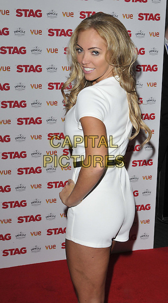 LONDON, ENGLAND - MARCH 13: Aisleyne Horgan-Wallace attends the &quot;The Stag&quot; gala film screening, Vue West End cinema, Leicester Square, on Thursday March 13, 2014 in London, England, UK.<br /> CAP/CAN<br /> &copy;Can Nguyen/Capital Pictures
