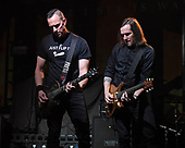 FORT LAUDERDALE FL - FEBRUARY 04: Mark Tremonti and Eric Friedman of Tremonti perform at Revolution Live on February 4, 2019 in Fort Lauderdale, Florida. : Credit Larry Marano © 2019