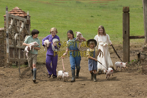 ASA BUTTERFIELD, EROS VLAHOS, LIL WOODS, OSCAR STEER & ROSIE TAYLOR-RITSON.in Nanny McPhee and the Big Bang (Nanny McPhee Returns).*Filmstill - Editorial Use Only*.CAP/FB.Supplied by Capital Pictures.