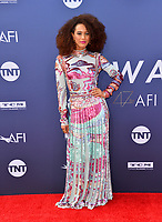 LOS ANGELES, USA. June 07, 2019: Tais Araujo at the AFI Life Achievement Award Gala.<br /> Picture: Paul Smith/Featureflash