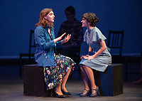 Milan Khali as Grace Hall, left, and Olivia Baldwin-Geilin as Debbie Hall<br />